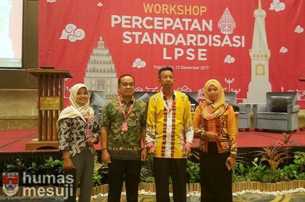 Hadiri Workshop LKPP, LPSE Mesuji Optimis Rampungkan Sembilan Standardisasi
