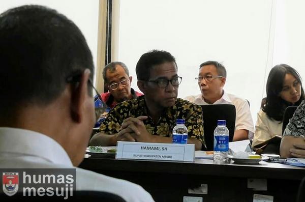 Hadiri Rapat Pembahasan Tol Trans Sumatera, Khamami Minta Ganti Rugi Segera Dibayarkan