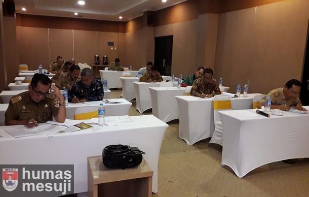 13 Pejabat Tinggi Pratama Pemkab Mesuji Ikuti Uji Kompetensi