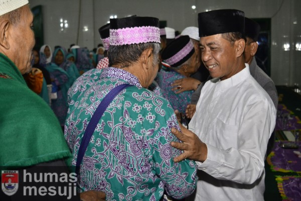 84 Jemaah Haji Tiba Kembali di Mesuji