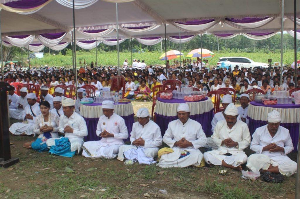 Umat Hindu Mesuji Laksanakan Upacara Melasti Jelang Nyepi