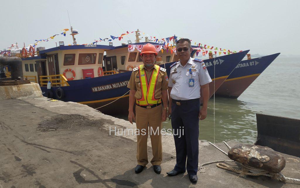 Mesuji Terima Bantuan Hibah Kapal Pelra